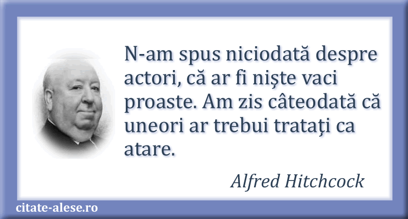 Alfred Hitchcock citate 04