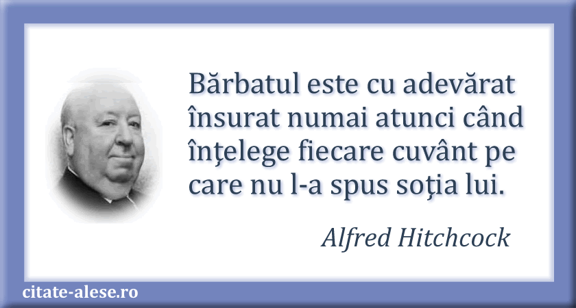 Alfred Hitchcock citate 01