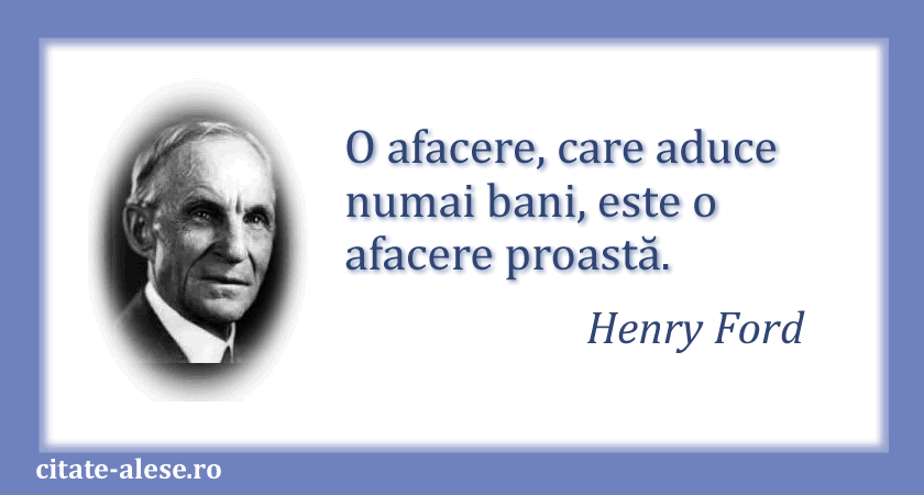 Henry Ford, citate 06