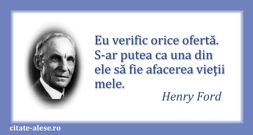 Henry Ford, citate 07